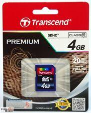 Transcend 4GB SDHC Karte Class 10 Speicherkarte TS4GSDHC10 Card SD 4 GB