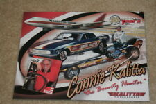 "2009 Connie Kalitta ""The Bounty Hunter"" Ford Mustang Funny Car NHRA postcard"