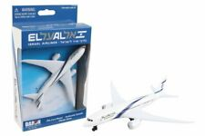El Al Single Plane, White - Daron RT1444 - Diecast Model Plane
