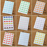 Self Adhesive Photo Corners Pink Blue Purple White Red Yellow Lovely colours