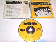 CD - Septeto Anacaona & Ciro Rimac 1936-1937 # R1