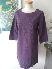 Seasalt Guglane Dress in Diamond Geo Indigo - UK10 EU38 - Sales Sample