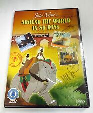 Around The World In 80 Days Animación DVD Dibujos 2008 Abbey Home Media Nuevo