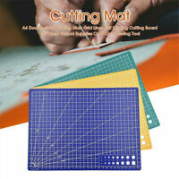 1X A4 Cutting Mat Self-Healing Printed Grid Line Craft Knife Rotary Cutter Board