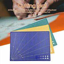 A4 Cutting Mat Self-Healing Printed Grid Line Craft Knife Rotary Cutter Board UK