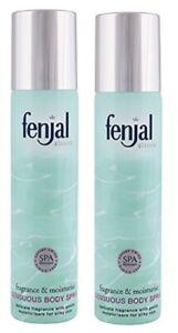 2x Fenjal Classic Body Spray 75ml