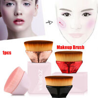 Foundation Makeup Brush Flat Tops Kabuki Hexagon Face Blush Powder Brush Tool