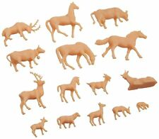Model Power Ho Scale - Animals - Unpainted - (72 PC) NEW 5793