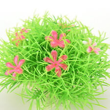 Artificial Flower Plant Water Grass Carpet for Fish Tank Aquarium Decor  RDFK