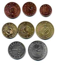 manueduc  ESPAÑA 1998 8 Las 8 Monedas PRUEBA FNMT CHURRIANA