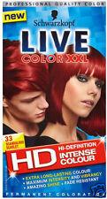 New Schwarzkopf Live Hair Color XXL Permanent Professional Quality Colour Dye UK