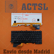 Keyboard Spanish for Dell Alienware 14 Black(Backlit,For Win8) Spanish