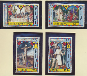 Fiji Stamps Scott #703 To 706, Mint Never Hinged, Easter 1994