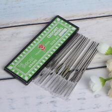12 pcs 1.2mm Silver Hooks Aluminum Crochet Hooks Needles