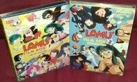 LIMITED BOX 6 DVD YAMATO ANIME/MANGA-LAMù FILM SET 1,2-SERIE COMPLETA MOVIES lum