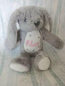 Personalised Bunny Rabbit ,Teddy Bear, Mumbles Baby Gift, Easter Bunny x1