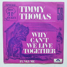 TIMMY THOMAS Why can't we live together 2001420