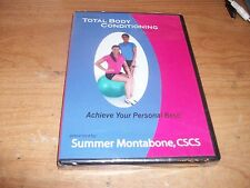 Low Impact Total Body Conditioning In Home or Travel DVD by Summer Montabone NEW