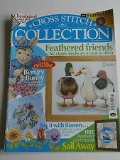 Cross Stitch Collection #83 Ducks Bunny Flowers Ship Chessboard Cherries Mice
