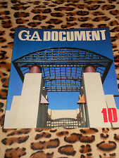 REVUE GA DOCUMENT - n° 10, May 1984 - Global Architecture