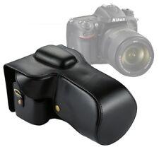 CUSTODIA FINTA PELLE PER Nikon D7200 / D7100 / D7000 18-200 / 18-140mm  MEC-13