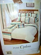 PR NEW & UNOPENED PURE OPULENCE PHILANA PTN CURTAINS WITH TIE BACKS.