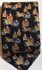 Burberry Men's Dress Silk Tie Made in ENGLAND Rare