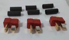 85219 Multiplex Accessories Deans Male Ultra Plugs (3Pcs) with Heat Shrink - New