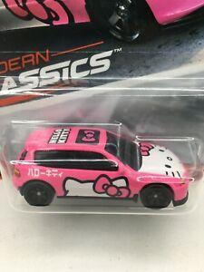 Hot Wheels  * Modern Classics* Honda Civic * Hello Kitty ***NICE * ** 1:64