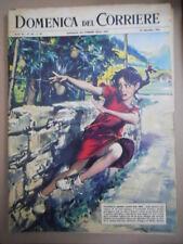 DOMENICA del CORRIERE n°38 1962 Emmanuelle Riva Salvador Dali Paul Preuss [G855]
