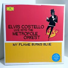 ELVIS COSTELLO Live Metropole Orkest My Flame Burns Blue 180g COLOR VINYL 2xLP