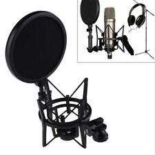 Audio Professional Condenser Microphone Studio Sound Recording W/ Shock Mount BE