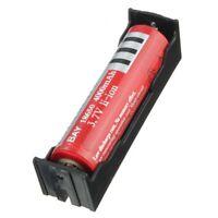 5pcs sostenedor de caja de DIY Negro de ABS para bateria de Li-ion 18650 3. B9C9