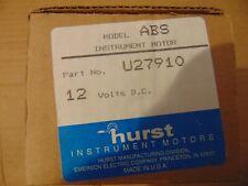 Wallace Tiernan / Hurst 12V DC ABS Instrument Motor U27910 PN# SP3038