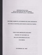 Accidente American Airlines Vuelo 965 (Accident Report American Flight 965)