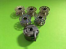 CB Spulenkapsel+5 Spulen für fasst alle Haushalt Nähmaschinen-Pfaff, Singer,AEG.