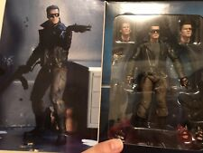 """NEW NECA The Terminator ULTIMATE T-800 Police Station Assault 7"""" Action Figure"""