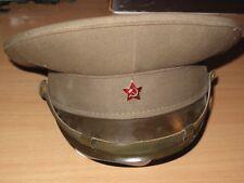 RUSSISCHE SOWJET UDSSR RUSSIA MÜTZE POLIZEI MILITÄR ORIGINAL KAPPE HUT - TOP RAR
