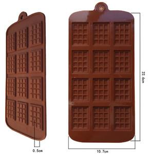 Silikon Mini Schokoladenriegel Gussform Wachs Schmelzen Handwerk Formen