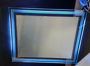 Rectangular Contemporary Back-lit Mirror