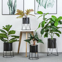 Metal Plant Vase Stand Flower Pot Planter Holder Shelf Rack Nordic Style