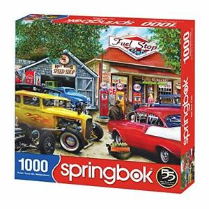 Hot Rod Cafe 1000 piece jigsaw puzzle 762mm x 610mm (sk)