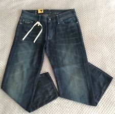 """New Women's G-STAR REESE KATE TAPERED Jeans 26"""" W 28"""" L Blue 'Worn in' RRP £110"""