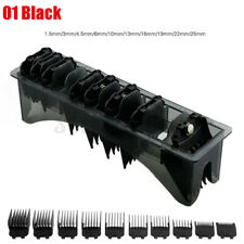 10 Pcs Premium Hair Clipper Limit Cutting Guide Comb Guards Tool Set For WAHL US