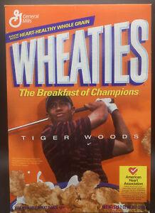 2004 Tiger Woods Wheaties Cereal Box - Unopened