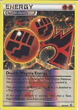 POKEMON CARD - XY DOUBLE CRISIS - DOUBLE MAGMA ENERGY 34/34 REV HOLO