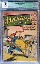 ADVENTURE COMICS #177 CGC QUALIFIED .5 C-OW! SCARCE! (INCOMPLETE)