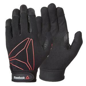 Reebok Training Gloves Functional Exercise Weight Lifting Full Finger Gym