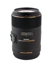 Sigma 105 mm F2.8 EX DG OS Macro obiettivo: Nikon CA2616