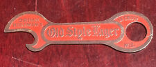 All Red Heileman's Old Style Pre-Prohibition Beer Bottle Opener Church Key